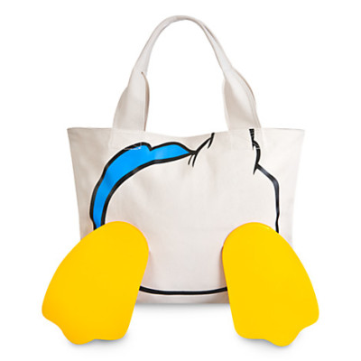 Donald Duck Face Feet Tote Bag 29 95