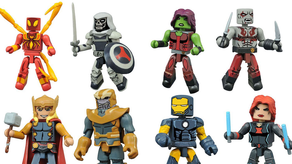 Marvel Minimates Series 2 Coming To Walgreens