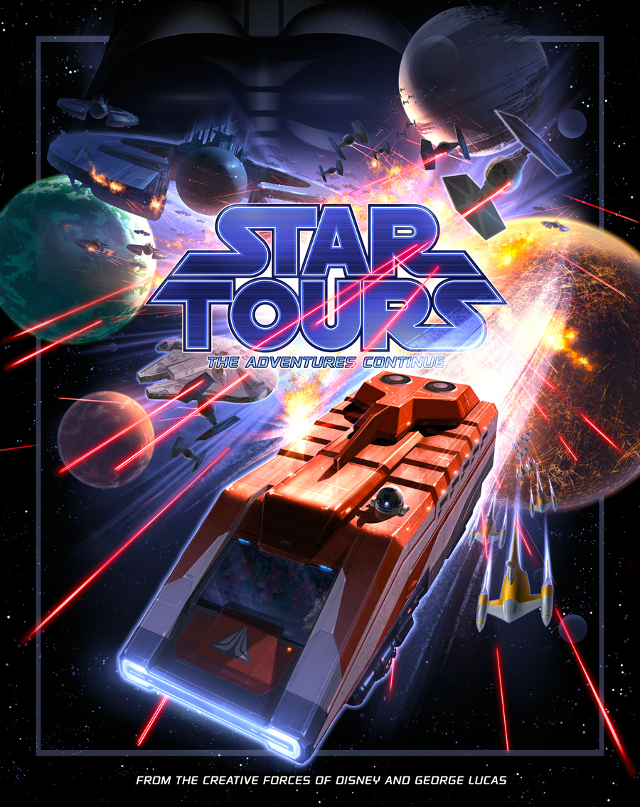 Coming To Tokyo Disneyland Star Tours Special Version Featuring A