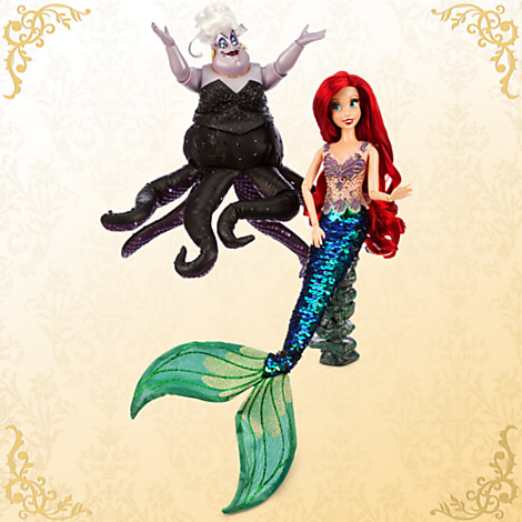 Ariel and Ursula Doll Set – Disney Fairytale Designer Collection Released