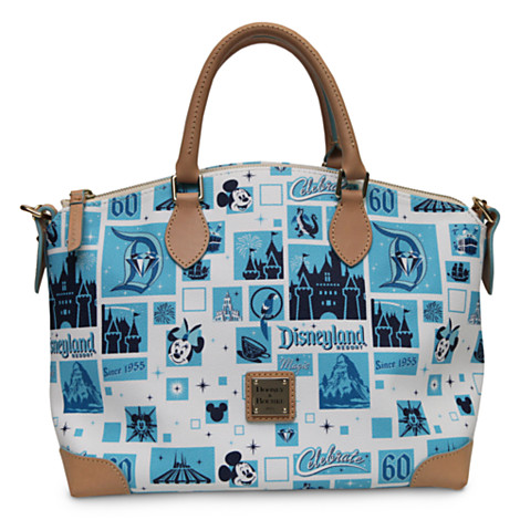 New Disneyland 60th Anniversary Bags from Harveys and Dooney & Bourke Online Now at the Disney Store!!!!