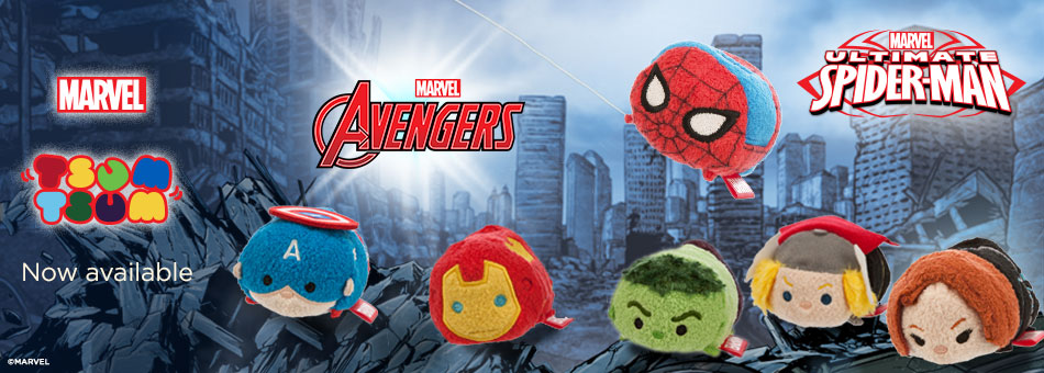 Marvel Avengers & Spider-Man Tsum Tsum Out Now