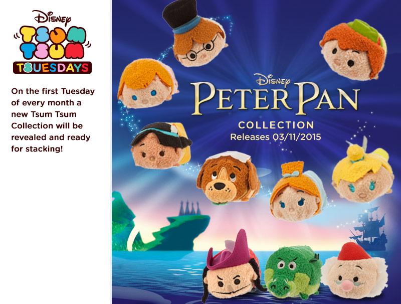 Peter Pan Tsum Tsum's Coming In November