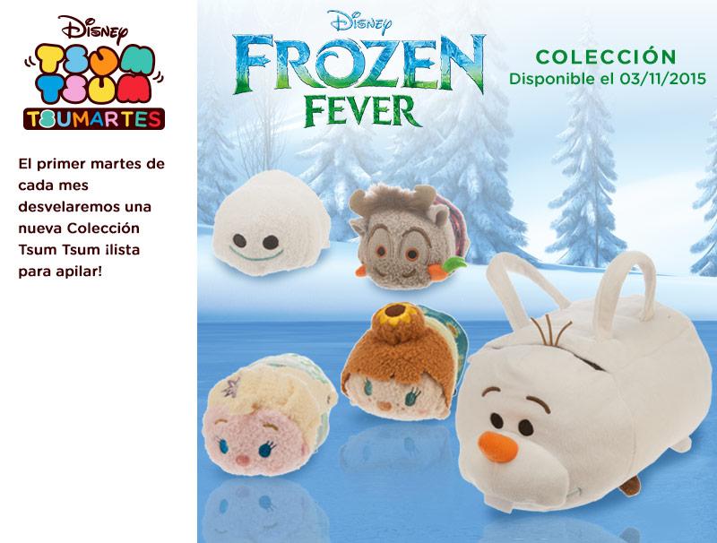 Frozen Fever Tsum Tsum Coming In November