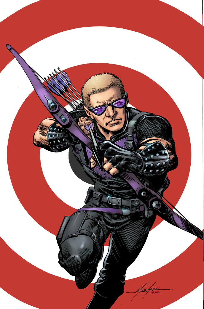 Ready, Aim, Fire! Your First Look at ALL-NEW HAWKEYE #1!