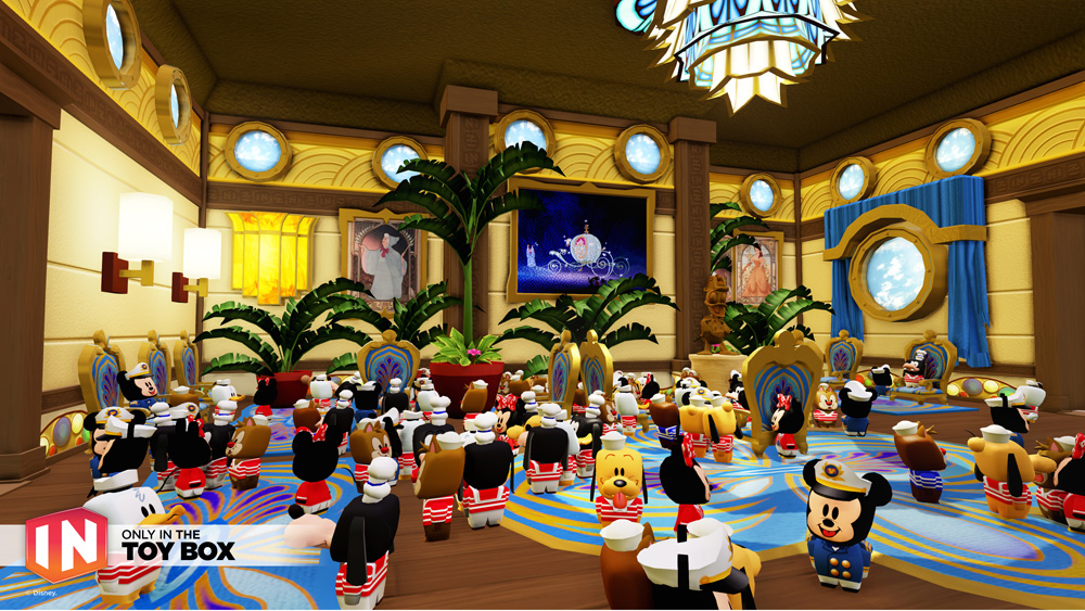 First Look At Disney Infinity Fun Coming To The Disney Dream - Disney cruise ship toy