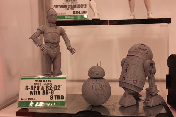 NYCC '15 Highlight: Marvel & Star Wars at Kotobukiya