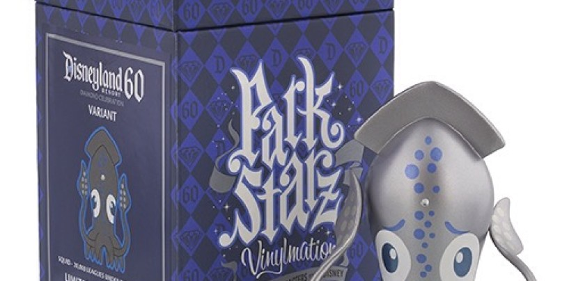 Disneyland 60th Squid Park Starz Variant Vinylmation Coming Soon