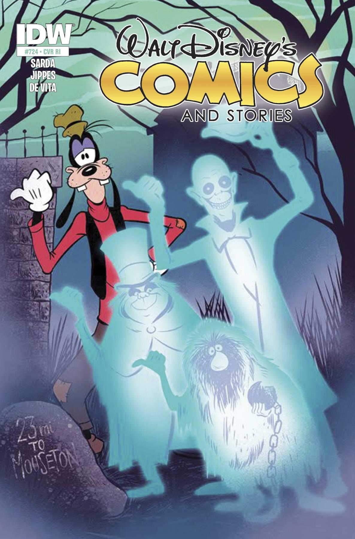 Walt Disney Comics & Stories #724 Review