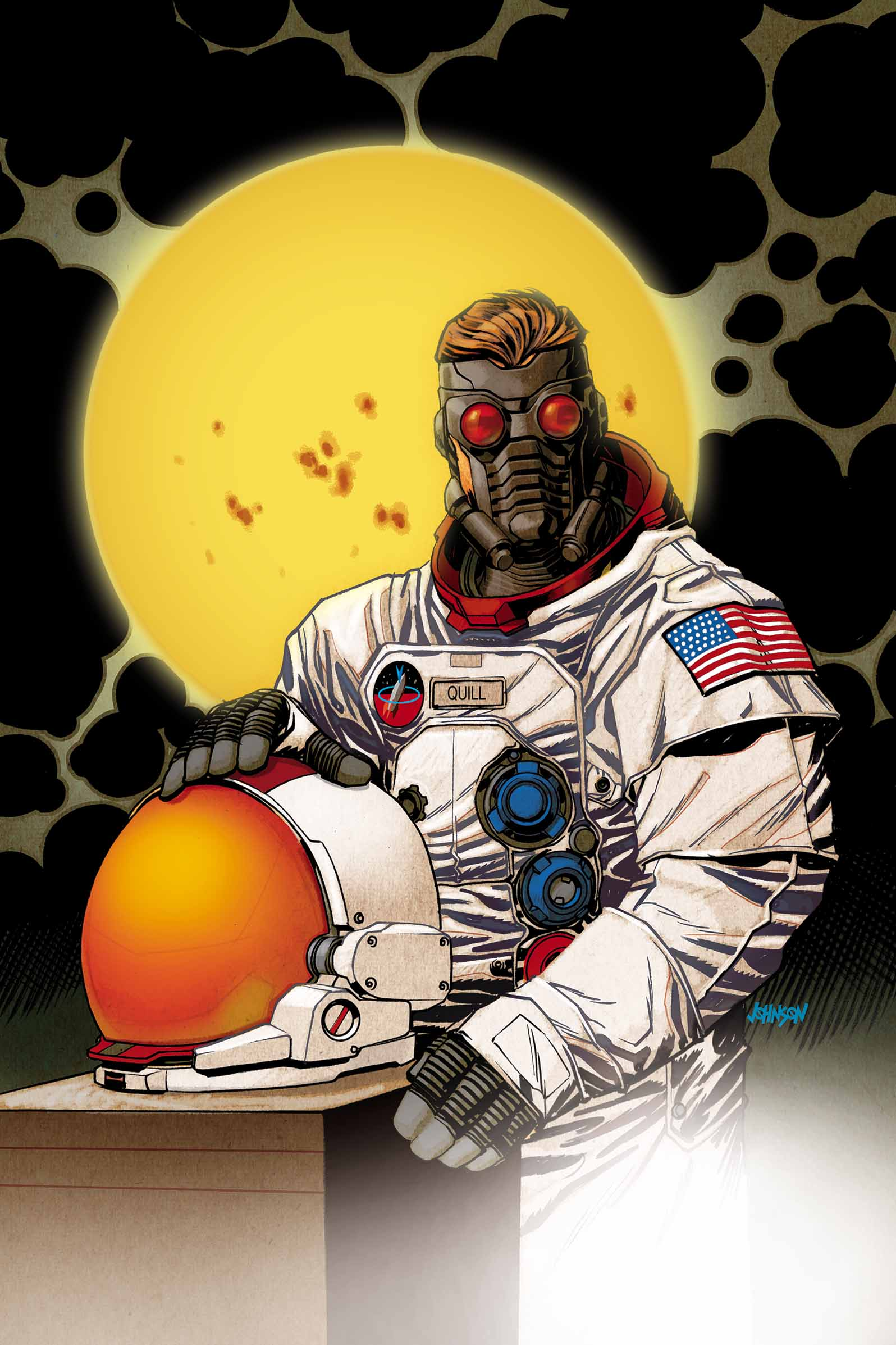 A Star(-Lord) is born in STAR-LORD #1!