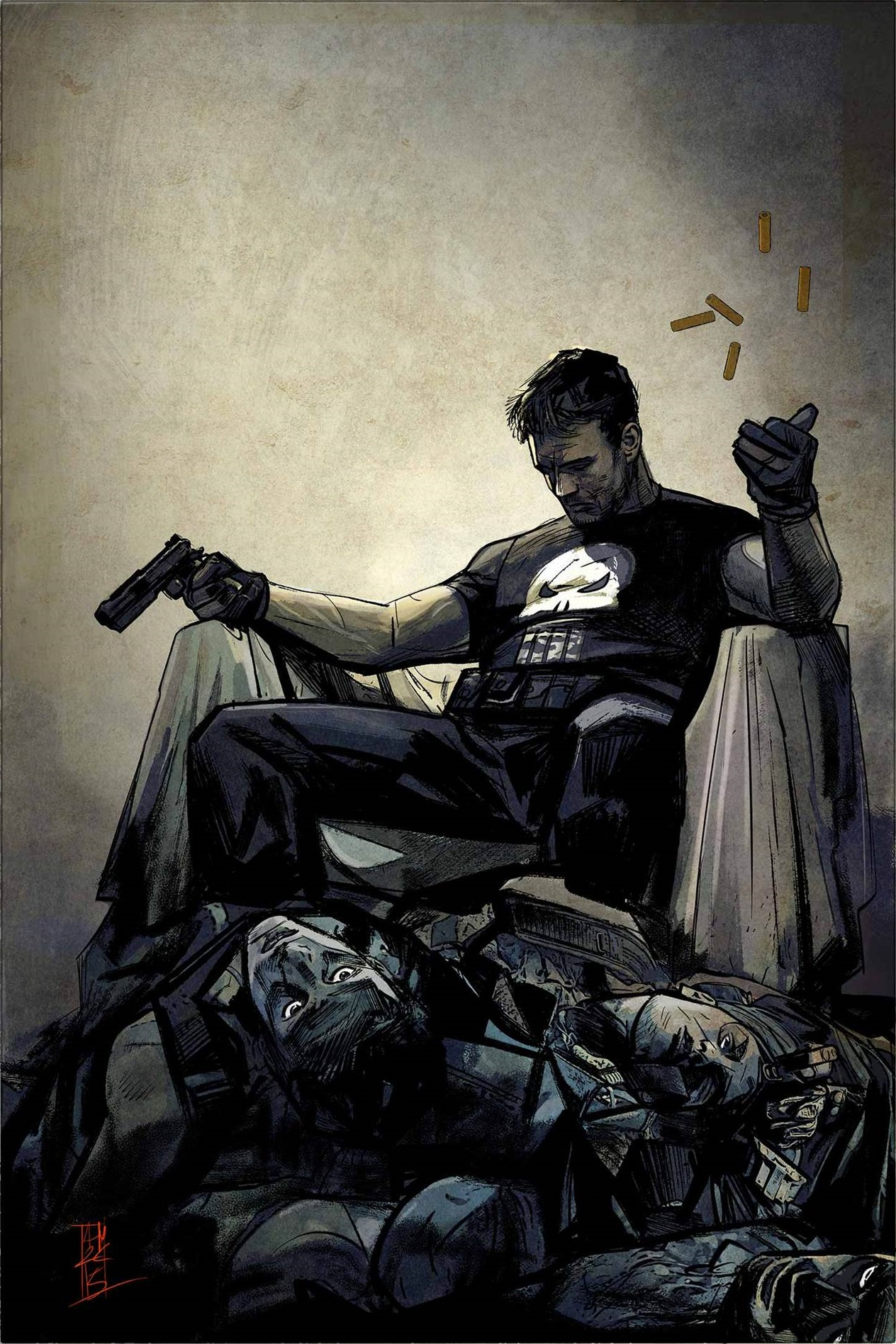 Locked and (Re)Loaded in THE PUNISHER #1!