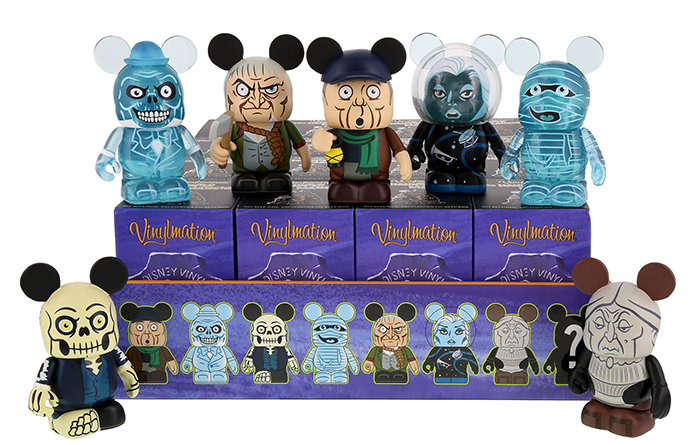 And The Haunted Mansion Series 2 Vinylmation Chaser Is