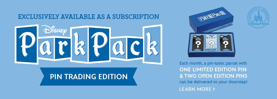Park Pack: Pin Trading Subscription Service Launches