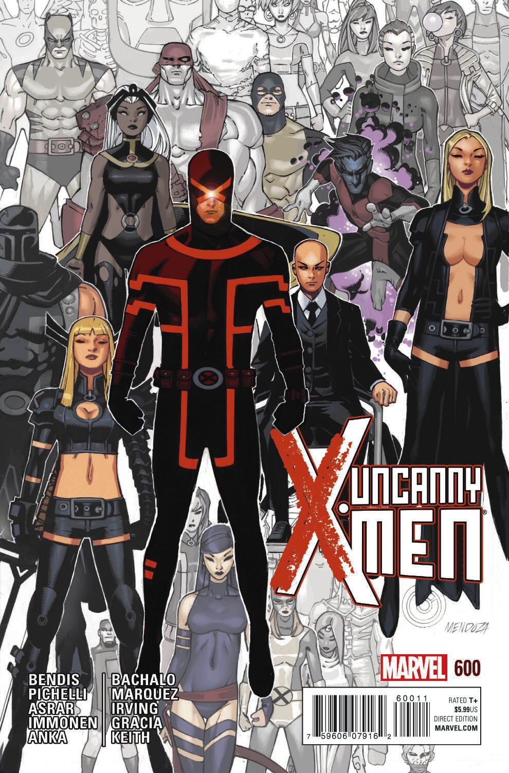 The End of an Era – Your New Look at UNCANNY X-MEN #600!