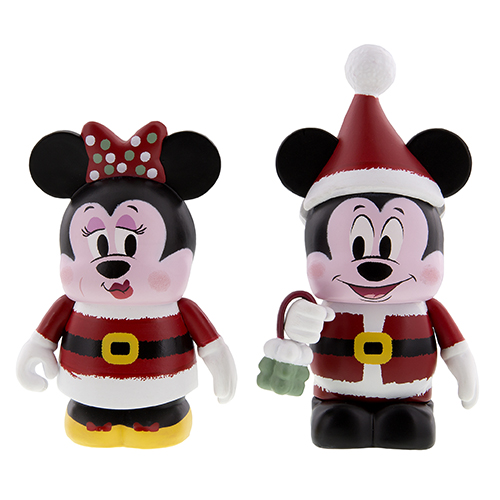 Christmas Mickey Amp Minnie Vinylmation Coming Soon