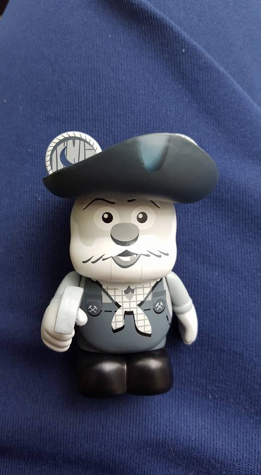 Pixar Black Amp White Stinky Pete Variant Vinylmation