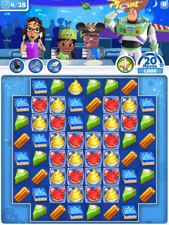 Disney Dream Treats Game Released