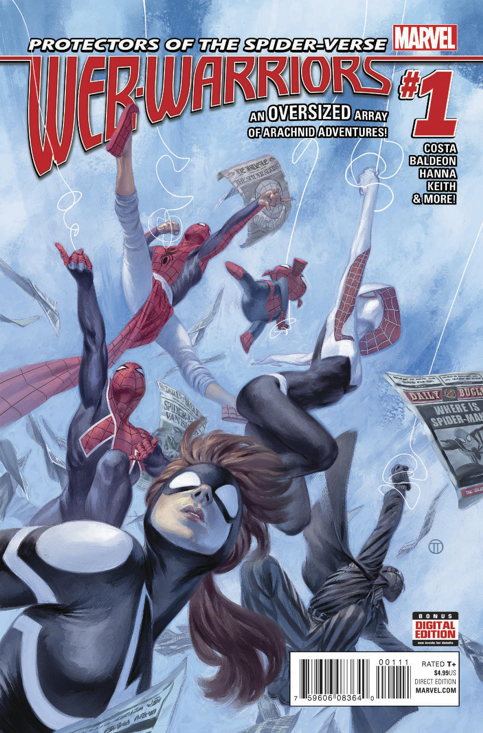 Meet the Heroes of the Spider-Verse in WEB WARRIORS #1!