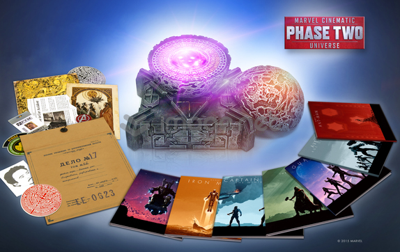 Details On Amazon Exclusive Marvel Phase 2 Collectors Edition