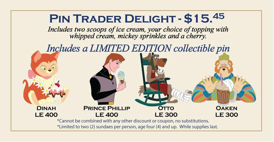 Details On The Latest Pin Trader Delights Pins