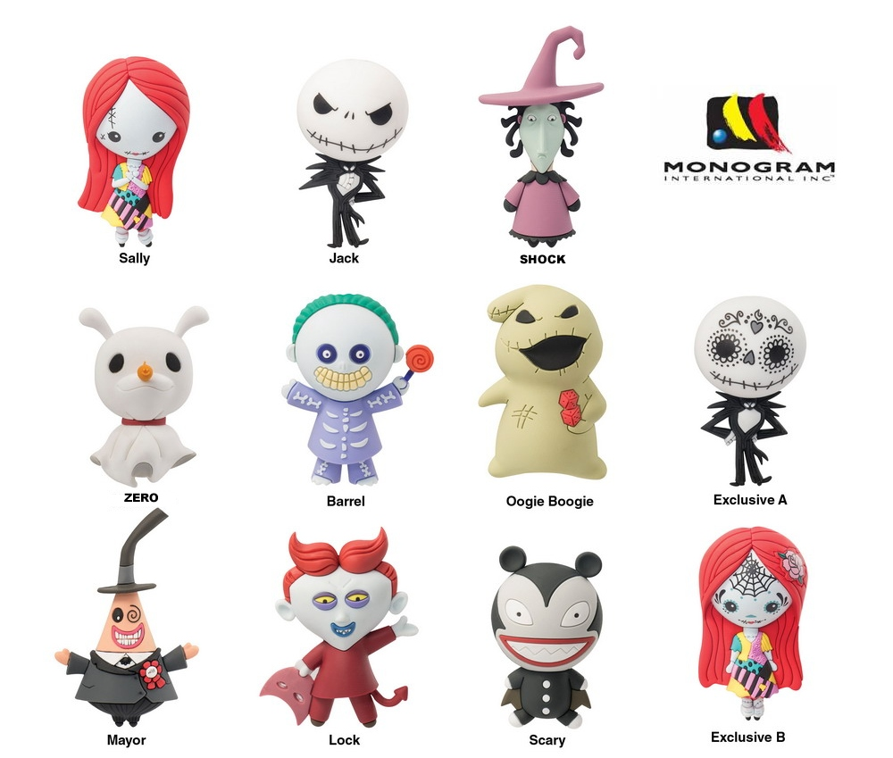 It is an image of Superb Nightmare Before Christmas Characters Pictures
