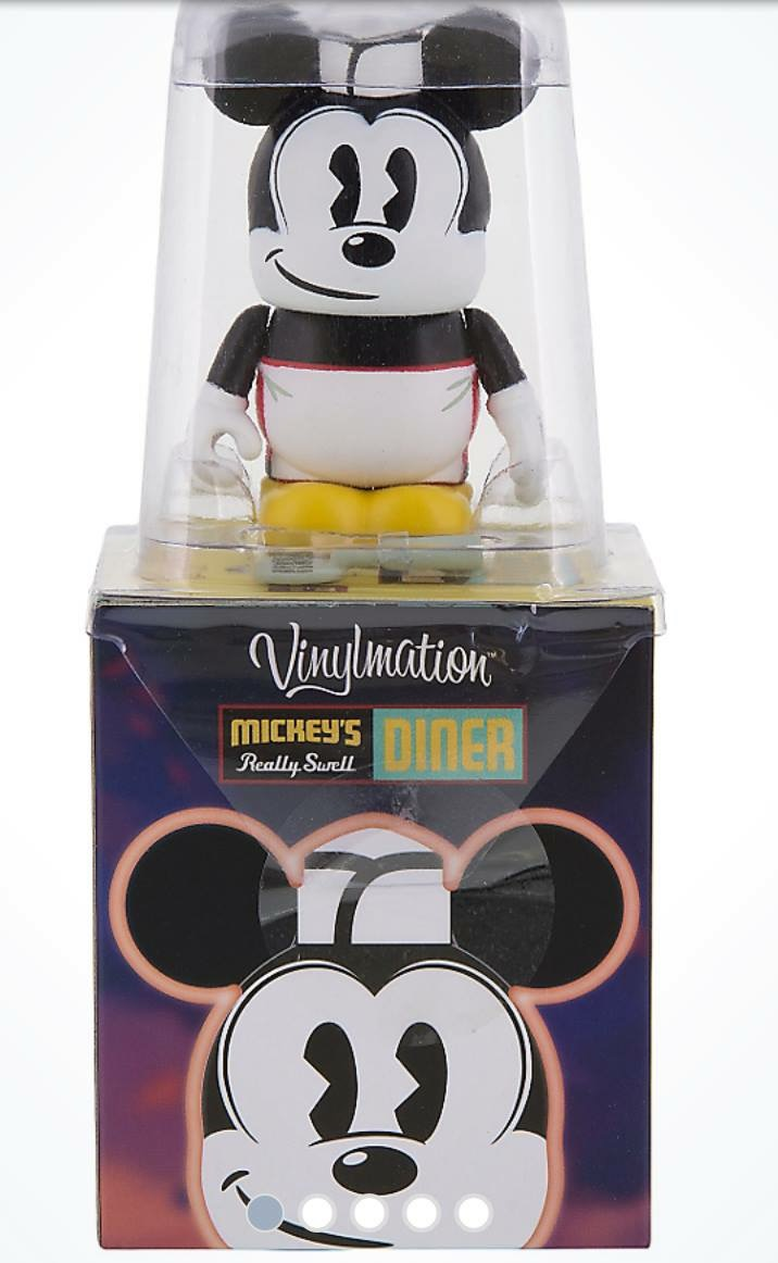 Mickey's Really Swell Diner Vinylmation Series Out Now