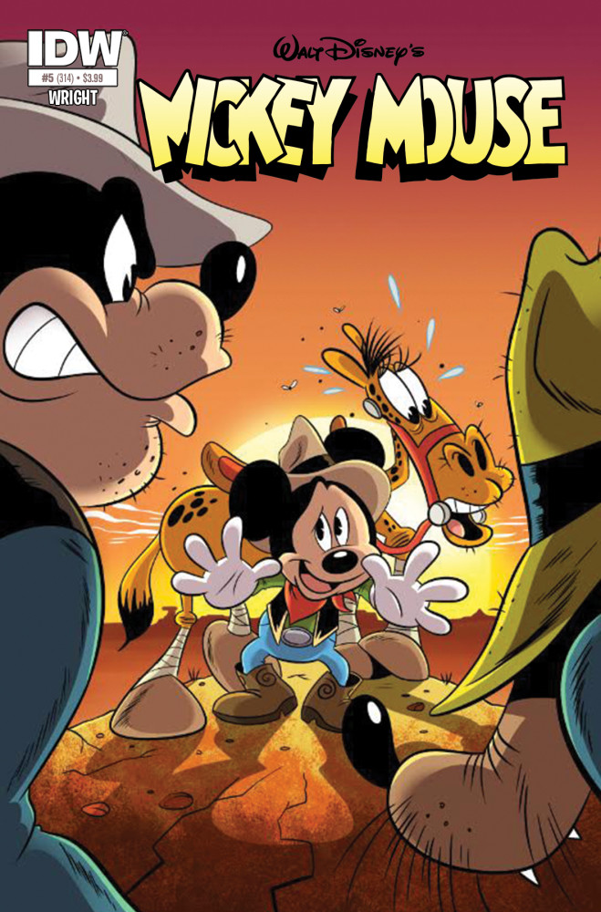 Mickey Mouse #5 Comic Book Review