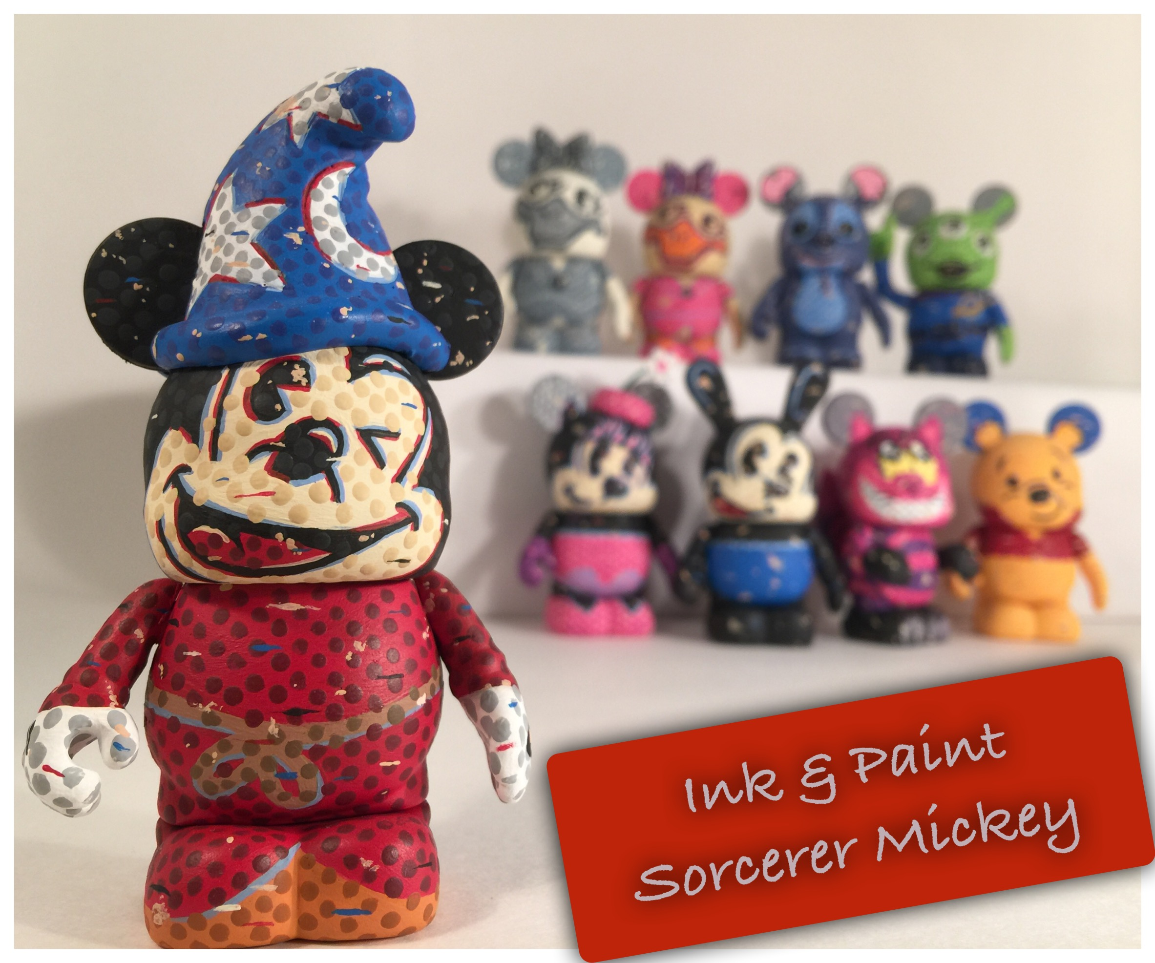 Custom Corner: Ink & Paint Series