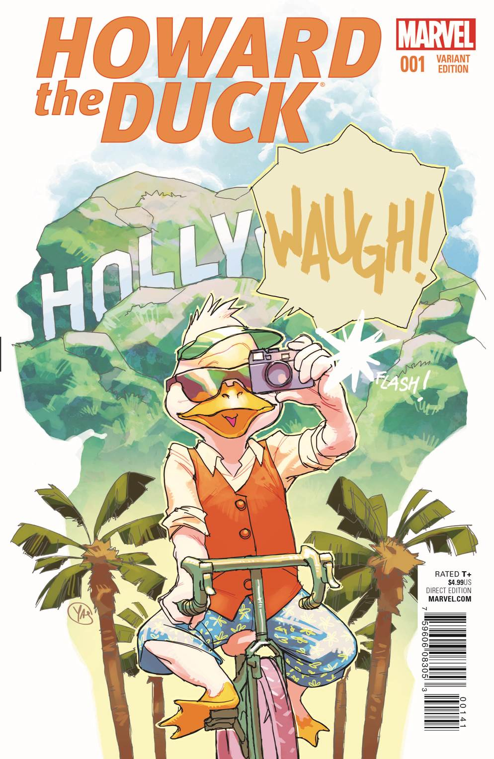 Waugh! Your New Look at HOWARD THE DUCK #1!