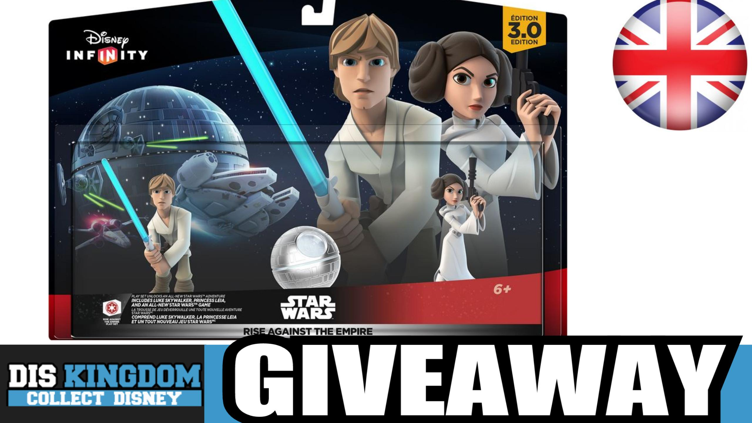 Disney Infinity 3.0 Star Wars Rise Against The Empire Giveaway (UK)