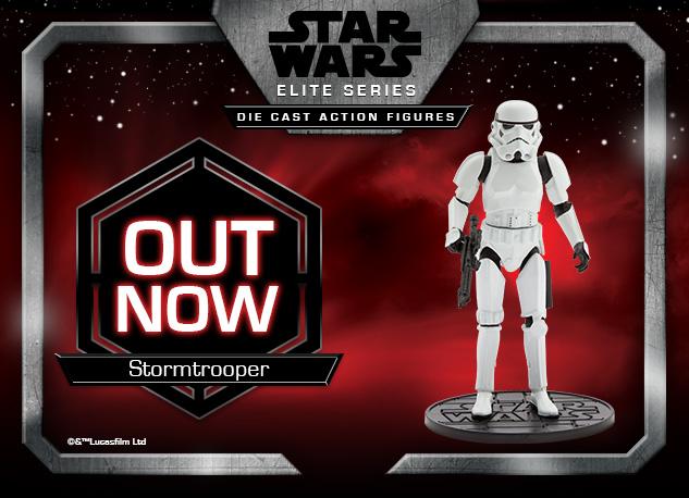 Star Wars Stormtrooper Elite Series Die Cast Action Figure Out Now