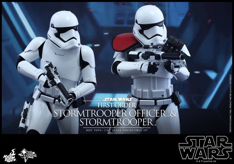 First Look At Stormtrooper Officer Figure From Hot Toys