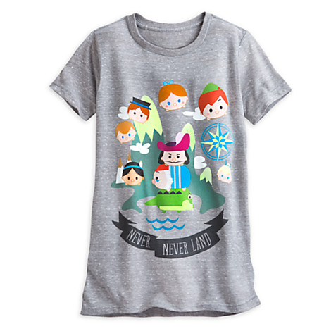 Peter Pan Tsum Tsum T-Shirt Released
