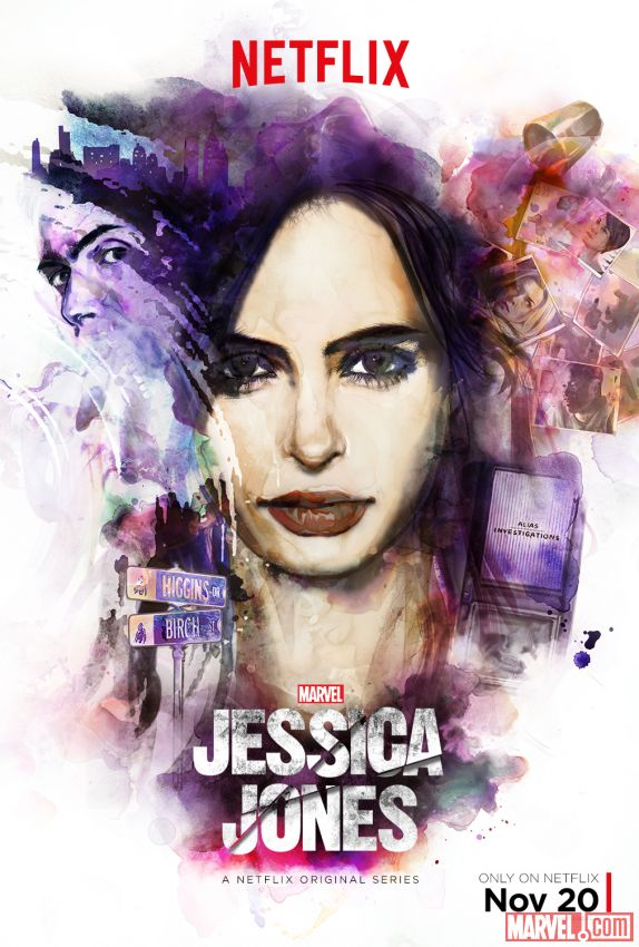 Marvel's Jessica Jones Out Now On Netflix
