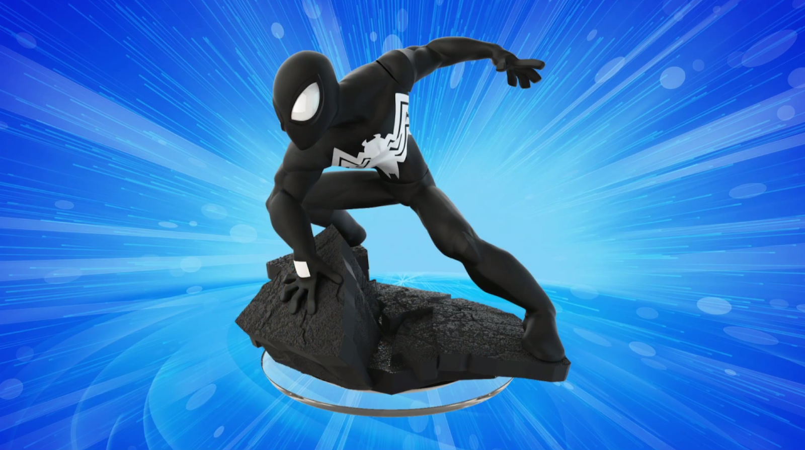 Disney Infinity 3.0 Black Suit Spider-Man Variant To Be Released Individually Soon