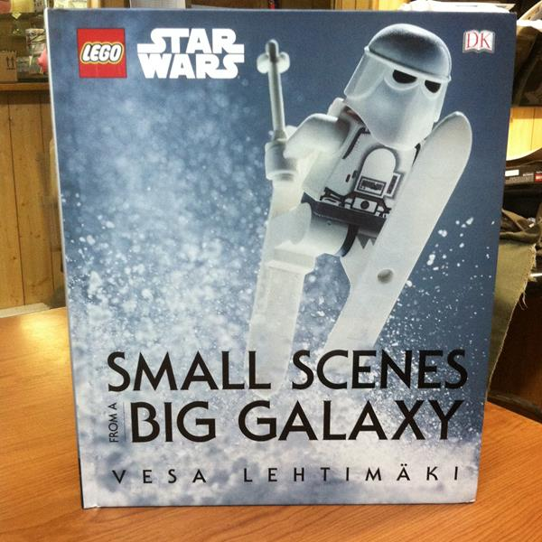 Lego Star Wars Small Scenes From A Big Galaxy Art Book Review