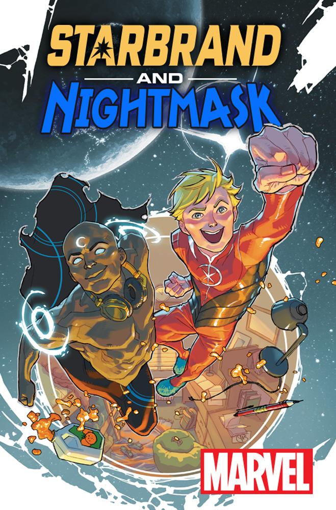 Cosmic Entities Attend College in STARBRAND & NIGHTMASK #1!