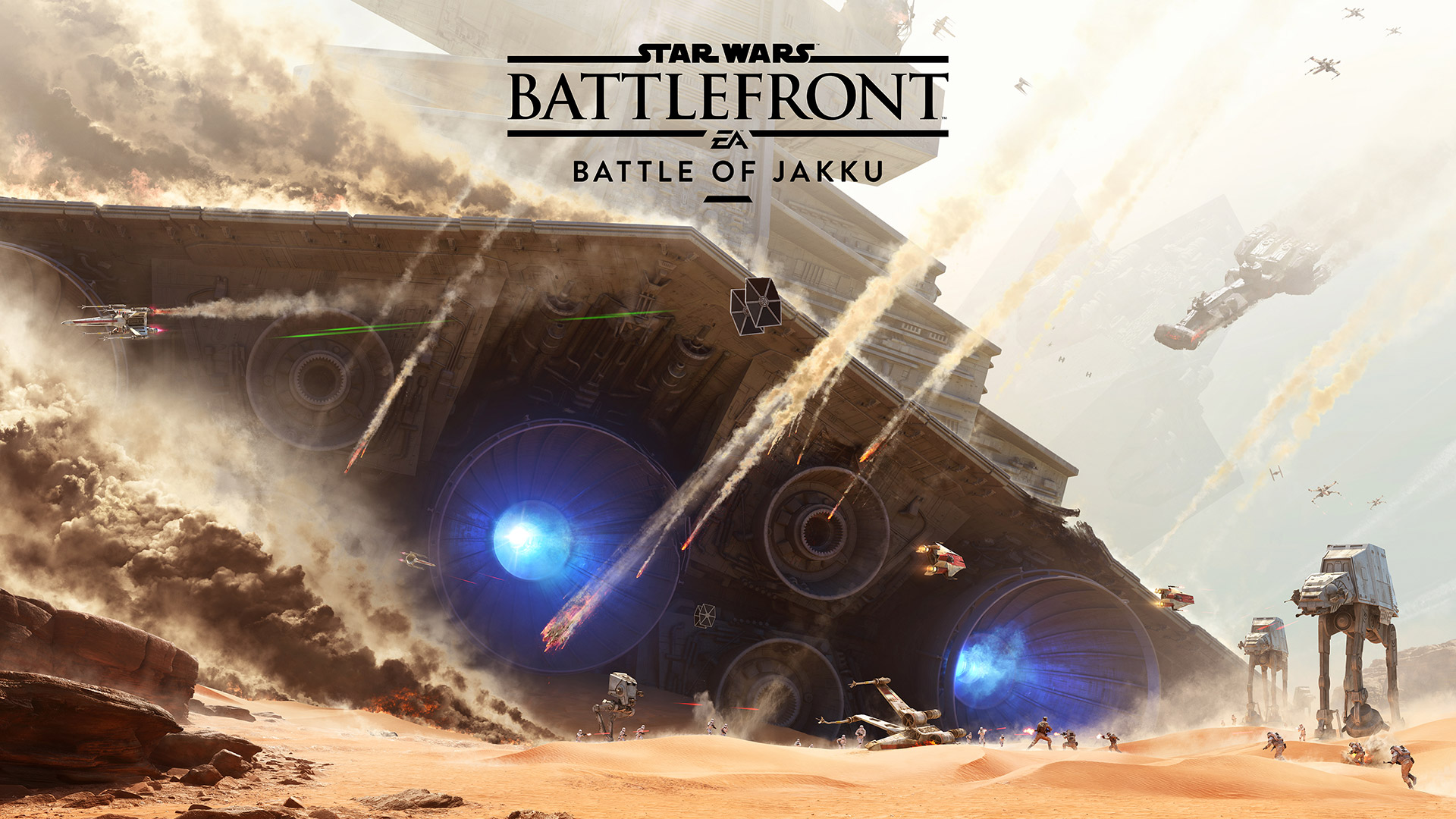 Details On Star Wars Battlefront Battle Of Jakku DLC