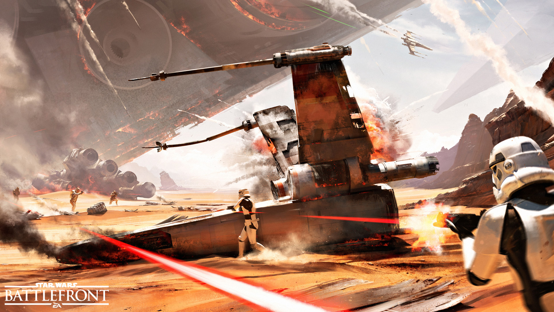 Star Wars Battlefront Lost Its Campaign Mode Because Of The Force Awakens