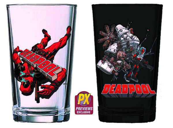 PREVIEWS Exclusive Marvel Drinkware for the Holidays
