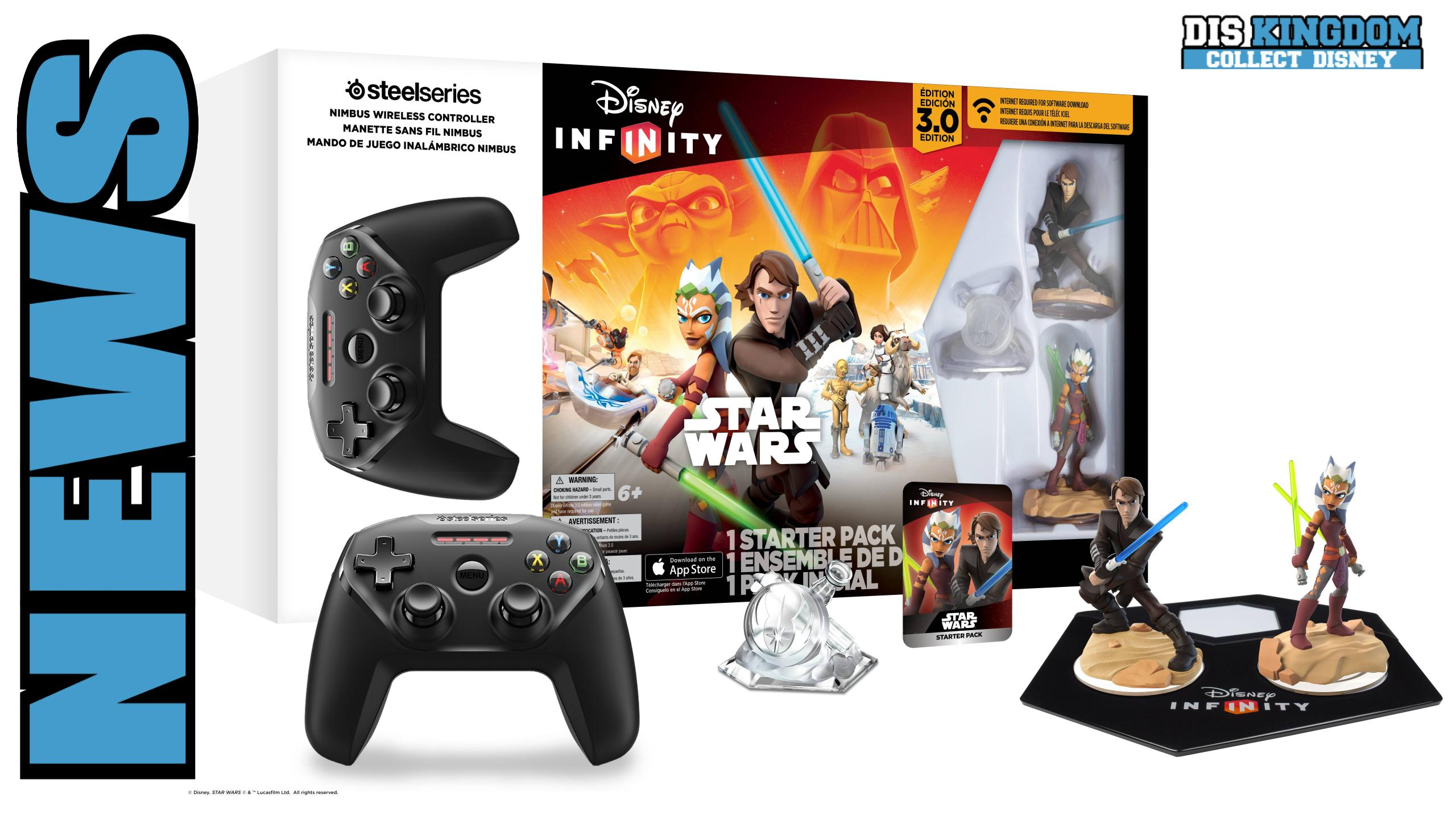 Disney Infinity 3.0 Out Now For Apple TV