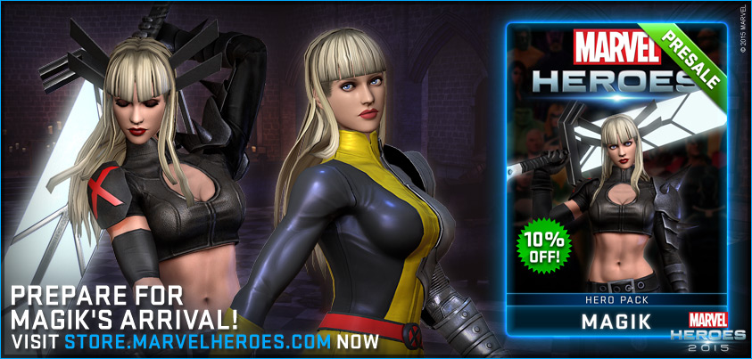 Magik Coming To Marvel Heroes