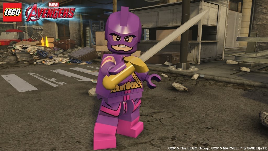 Swordsman Coming To LEGO Avengers