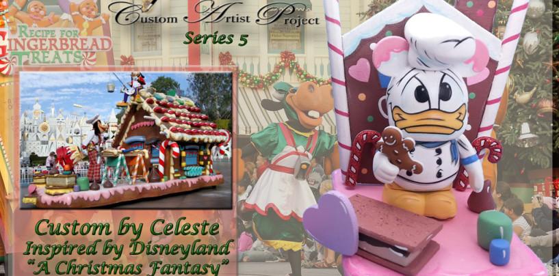 A Christmas Fantasy Parade Custom Vinylmation Preview