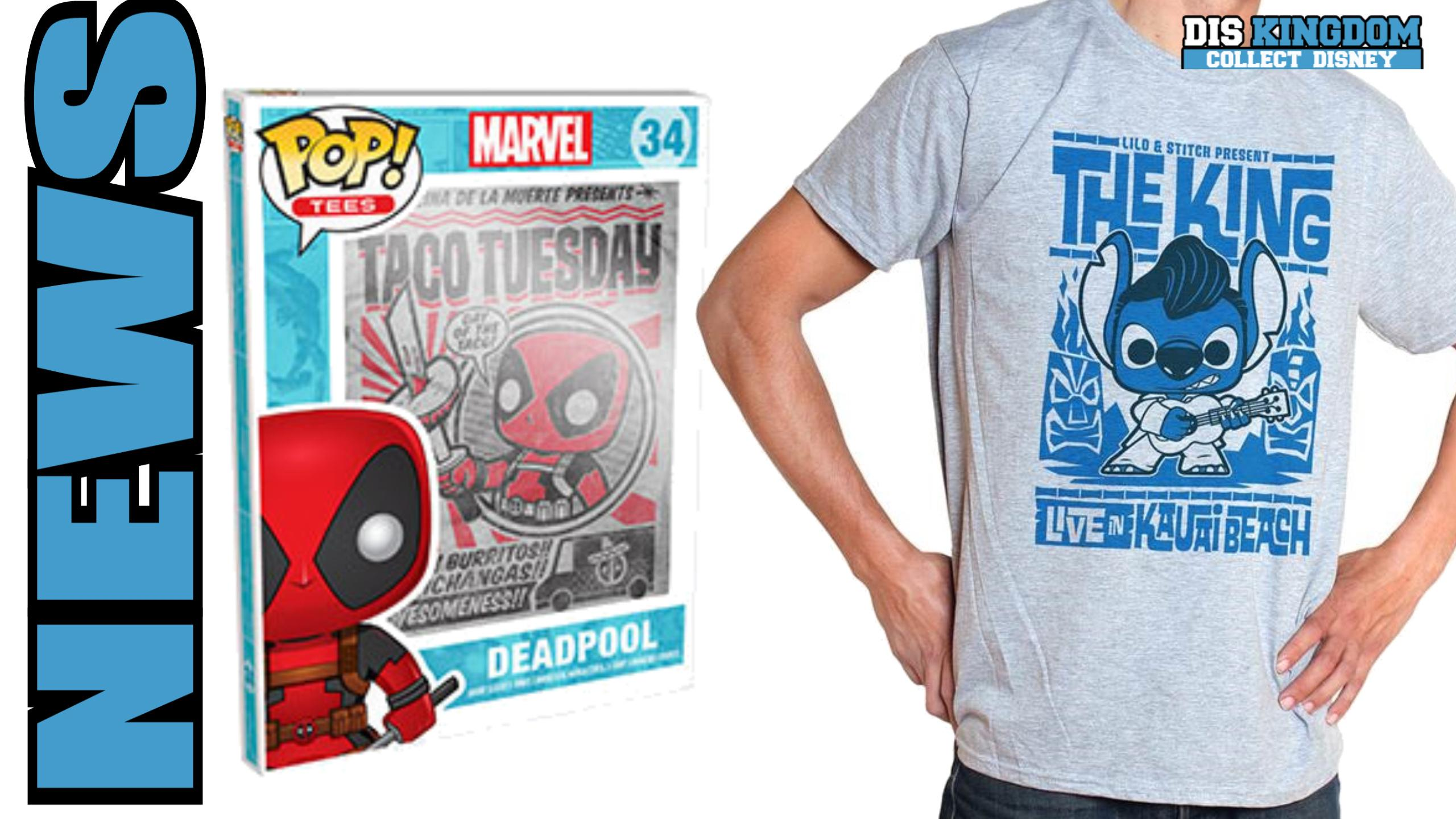 New Marvel, Star Wars & Disney Funko T-Shirts Coming Soon