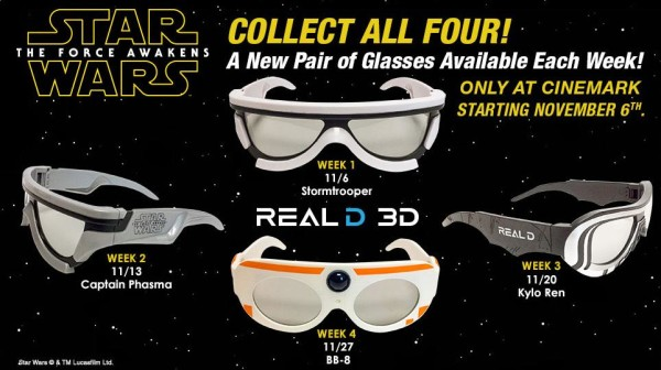 Have You Gotten Your Force Awakens 3D Glasses Yet?