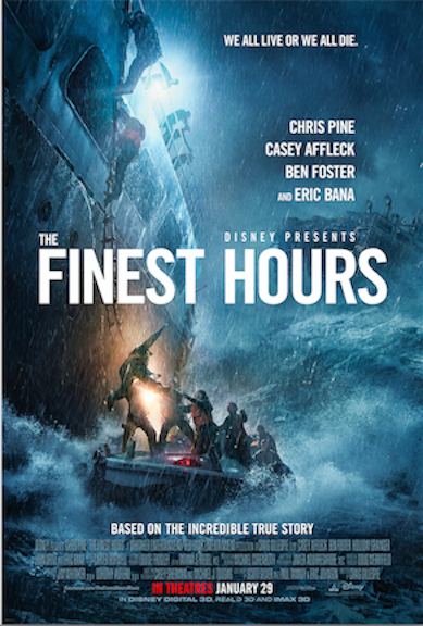 The Finest Hours Trailer Released