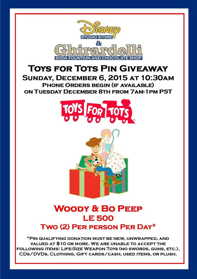 Latest Toys For Tots Toy Story Pin Revealed