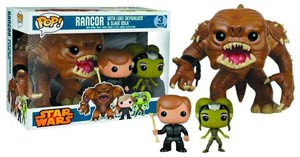Details on PREVIEWS Exclusive Star Wars Rancor Pit Pop! 3 Pack