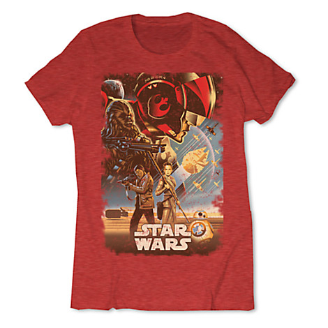 Limited Release Star Wars: The Force Awakens T-Shirts Released